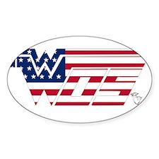 WOS Flag Sticker