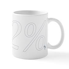 112 White Mugs