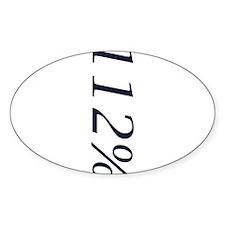 112 Vertical Sticker