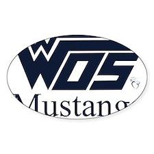 WOS Mustangs Sticker