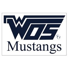 WOS Mustangs Posters