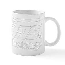 WOS Mustangs White Mugs