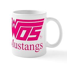 WOS Mustangs Pink Mugs