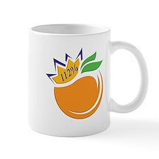 Orange logo Mugs
