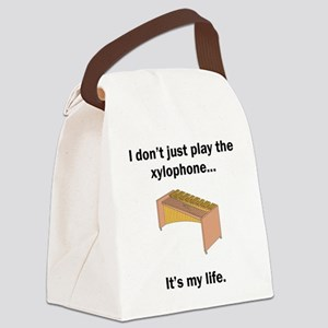 Xylophone Its My Life Canvas Lunch Bag