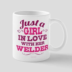 Girl Loves Welder Mugs