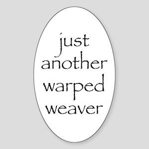warped Sticker