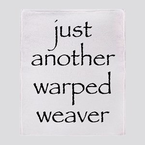 warped Throw Blanket