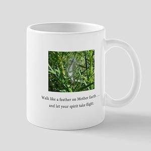 Walk Like A Feather and Take Flight Gifts Mugs