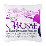WEC Woven Throw Pillow