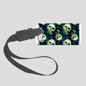 Punisher Skull Pattern Small Luggage Tag