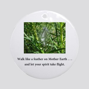 Walk Like A Feather and Take Flight Gifts Round Or