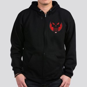 Punisher Icon Zip Hoodie (dark)