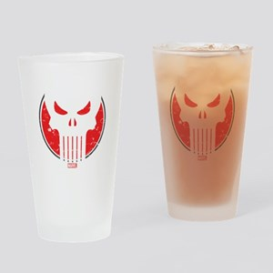 Punisher Icon Drinking Glass