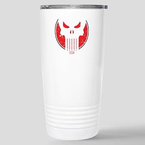 Punisher Icon Stainless Steel Travel Mug