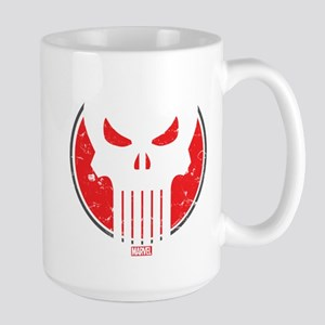 Punisher Icon Large Mug