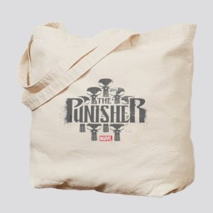 The Punisher Distressed Tote Bag