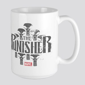 The Punisher Distressed Large Mug