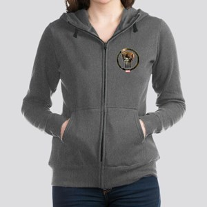 The Punisher Icon Women's Zip Hoodie
