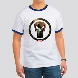 The Punisher Icon Ringer T