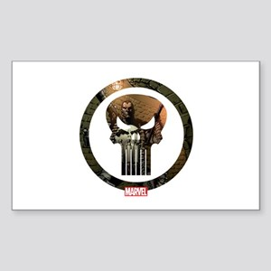 The Punisher Icon Sticker (Rectangle)