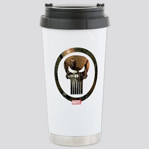 The Punisher Icon Stainless Steel Travel Mug