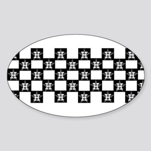 h tile.ufo Sticker