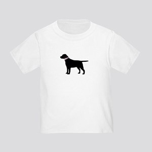 Preppy Black Lab Toddler T-Shirt
