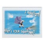 Cartoon Sheep Wall Calendar