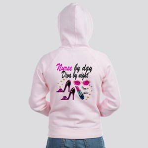 AWESOME NURSE Women's Zip Hoodie