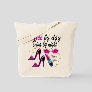 AWESOME NURSE Tote Bag