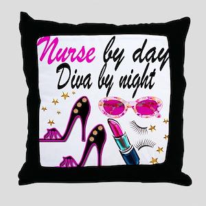 AWESOME NURSE Throw Pillow