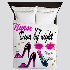 AWESOME NURSE Queen Duvet