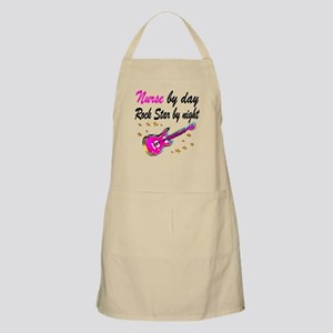 NURSE ROCK STAR Apron