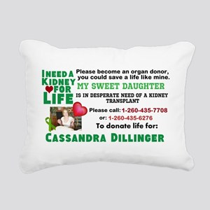 Strong Choice Rectangular Canvas Pillow