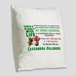 Strong Choice Burlap Throw Pillow