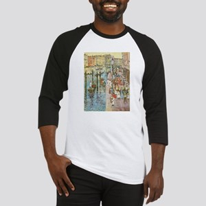 Grand Canal by Prendergast Baseball Jersey