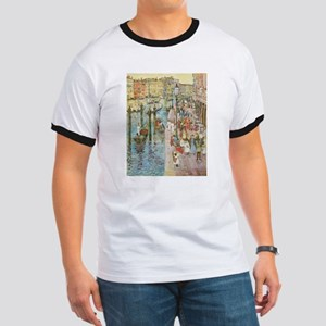 Grand Canal by Prendergast T-Shirt
