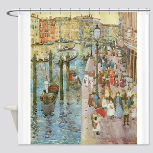 Grand Canal by Prendergast Shower Curtain