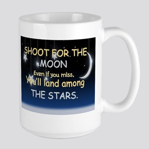 Shoot For The Moon Large Mug