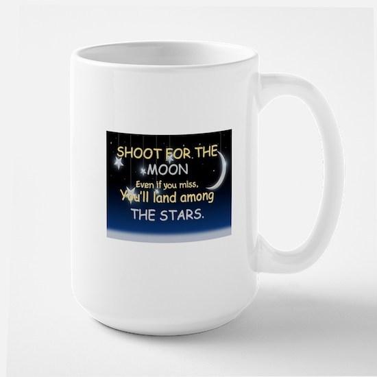 Shoot For The Moon Large Mug