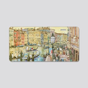Grand Canal by Prendergast Aluminum License Plate