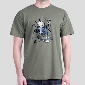 GOTG Baby I am Groot Grunge Dark T-Shirt