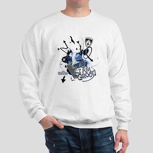 GOTG Baby I am Groot Grunge Sweatshirt