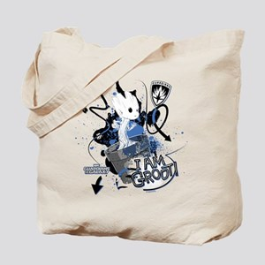 GOTG Baby I am Groot Grunge Tote Bag
