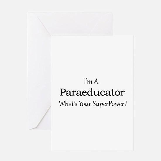 Paraeducator Greeting Cards