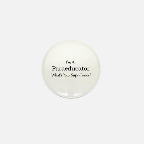 Paraeducator Mini Button