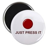 Big Red Button Magnet