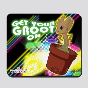 GOTG Get Your Groot On Mousepad