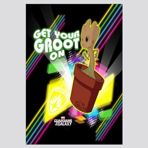 GOTG Get Your Groot On Wall Art